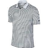 Nike Icon Stripe Golf Polo 2016 White/Black Large