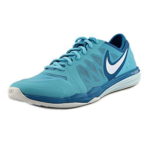 NIKE Dual Fusion Tr 3 Women US 9 Blue Running Shoe (Fusion 3 Tr Nike)