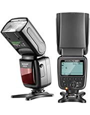 Neewer NW561 LCD Display Flash Speedlite for Canon Nikon Panasonic Olympus Pentax Fujifilm and Sony with Mi Hot Shoe, DSLR and Mirrorless Cameras with Standard Hot Shoe