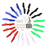 Coolplay Full Set Spare Parts with Main Blade Propeller,Motors,Main Gear Set with Shaft,Mounting Screws Replacement for Syma X11 X11C X13 RC Quadcopter