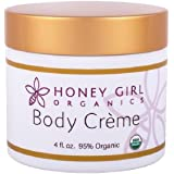 Honey Girl Organics, Body Creme, 4 fl oz (Discontinued Item)
