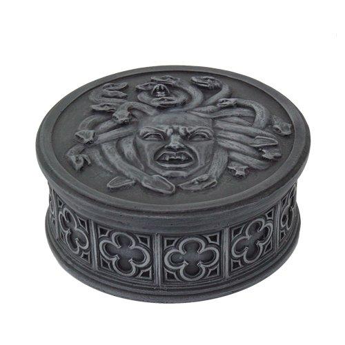 - Pacific Giftware Medusa Gorgon Temptress Greek Mythology Lidded Trinket Jewelry Box 4 Inch