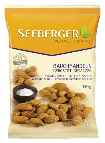 Seeberger Rauch-Mandeln geröstet, gesalzen, 6er Pack