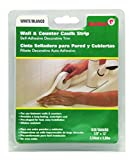 Red Devil 0155 Caulk strip Wall & Counter White 7/8 -inch by 12-feet
