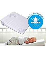 Brand New Baby Wedge Anti Reflux Colic Pillow Cushion for Pram Crib Cot Bed 37x30