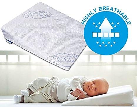 Sensillo Baby Wedge- Almohada anti reflujo cólicos para cuña ...