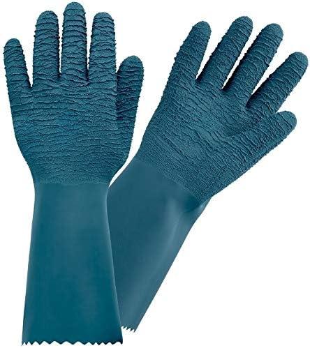 10 ROSTAING PROTECTMAX-IT10 Gants de Jardinage Taille Rosiers Petits /Épineux 100/% Imperm/éable Long Latex /Épais-ROSTAING-Taille10 Vert bleu