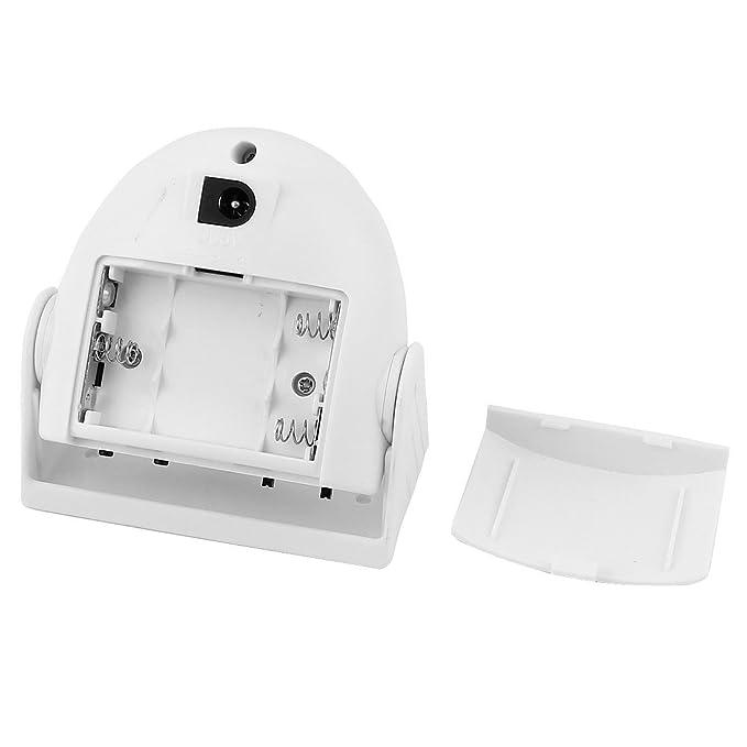 Amazon.com : eDealMax infrarrojo Detector DE PUERTA DE ENTRADA Campana Campana ALERTA DE ALARMA Timbre : Camera & Photo