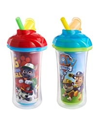 Munchkin Paw Patrol Click Lock Insulated Straw Cup,2 Pack BOBEBE Online Baby Store From New York to Miami and Los Angeles