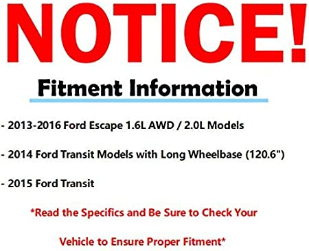 Disc Brake Pad Set-AWD Front MOTORCRAFT NBR-1645 fits 2013 Ford Escape