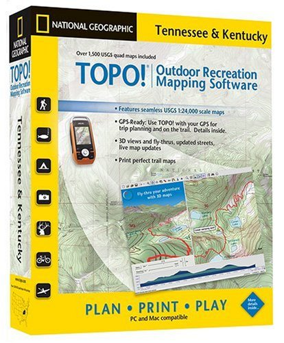 Amazon com: TOPO! National Geographic USGS Topographic Maps