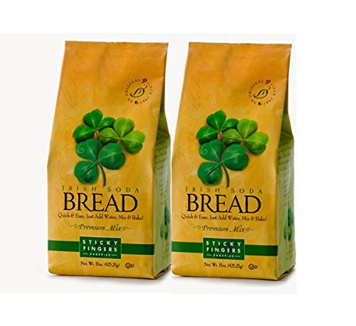 Irish Bread Soda (Sticky Fingers Irish Soda Bread Premium Mix (2-Pack))