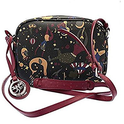 PIERO GUIDI Tasche SLING BAG MAGIC CIRCUS Damen Schwarz - 210274038-P4 xJCcd1qDB
