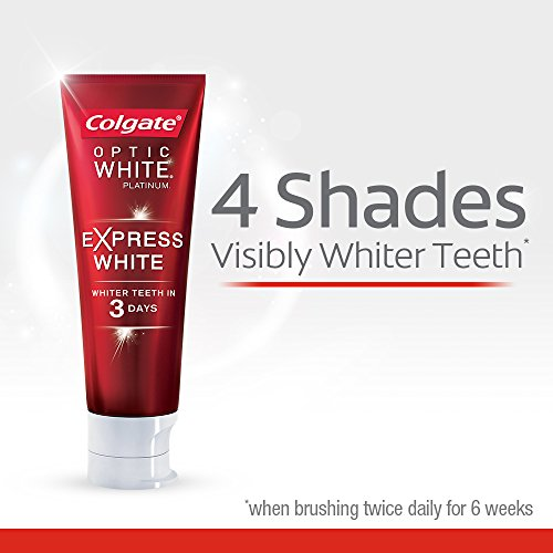 Colgate Optic White Express White Whitening Toothpaste - 3 ounce (3 Pack) by Colgate (Image #3)