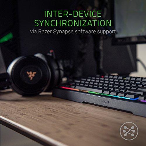 Razer Ornata Chroma Gaming Keyboard MechaMembrane Key Switches  Customizable Chroma RGB Lighting