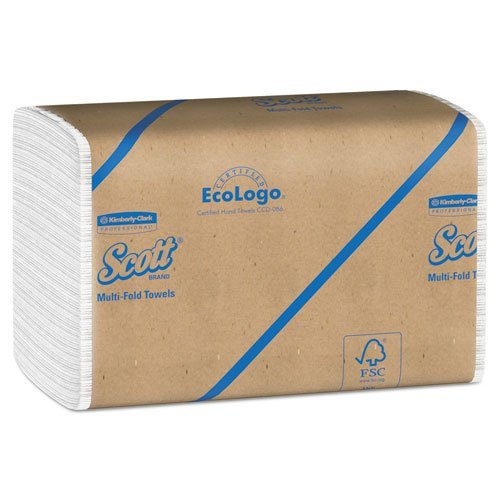 キンバリースコットMultifold紙タオル、9 – 3 / 8 x 9 – 1 / 2、We、250 / PK、16 / ctn B00KJ6T4VG