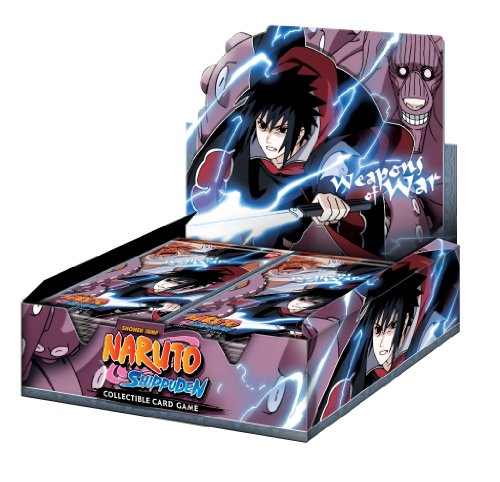 Naruto Weapons of War Booster Box (24 Packs)