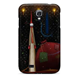 Excellent Design Xmas Bag Phone Case For Galaxy S4 Premium Tpu Case
