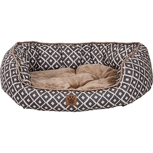 y IKAT Daydreamer Gray (Snoozzy Pet Bed Plush)