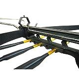 iGlow 80 lb Black Aluminum Hunting Pistol Crossbow