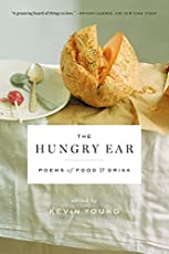Food and poetry: in so many ways, a natural pairing, from prayers over bread to street vendor songs. Poetry is said to feed the soul, each poem a delicious morsel. When read aloud, the best poems provide a particular joy for the mouth. Poems about...