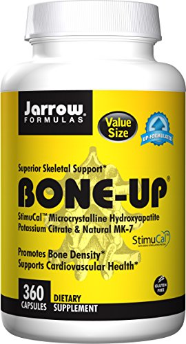 - Jarrow Formulas Bone-Up, Promotes Bone Density, 360 Caps