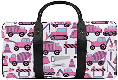 建設sbfリカラー1 旅行バッグナイロンハンドバッグ大容量軽量多機能荷物ポーチフィットネスバッグユニセックス旅行ビジネス通勤旅行スーツケースポーチ収納バッグ