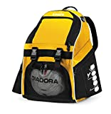 Diadora Squadra II Soccer Backpack, Gold/Black
