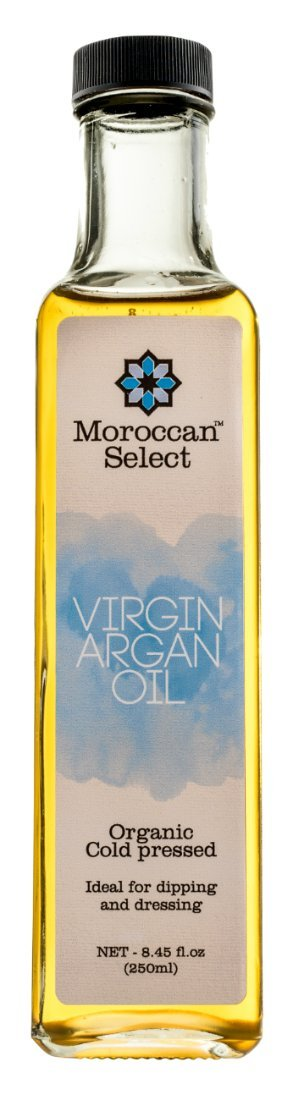 Culinary Argan Oil by Moroccan Select (8.45 Ounces) | This Edible Argan Oil is a Great Bread Dipping Oil, Alternative for Olive Oil Salad Dressing and a Great Gourmet Argan Oil for Cooking