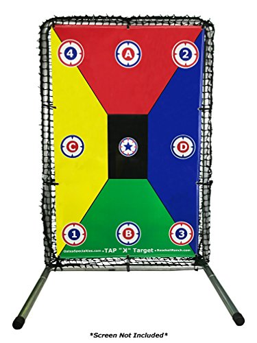 (TAP 'K' Target | Durable, Color-Coded,and Visual Targets for Elite Baseball Throwing Practice)