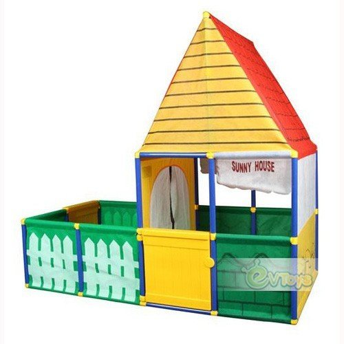 Amazon.com iPlay XXL Multi-functional European Sunny House Kids Tent - Double Entrance with backyard Kids Authority Toys u0026 Games  sc 1 st  m.amazon.com & Amazon.com: iPlay XXL Multi-functional European Sunny House Kids ...