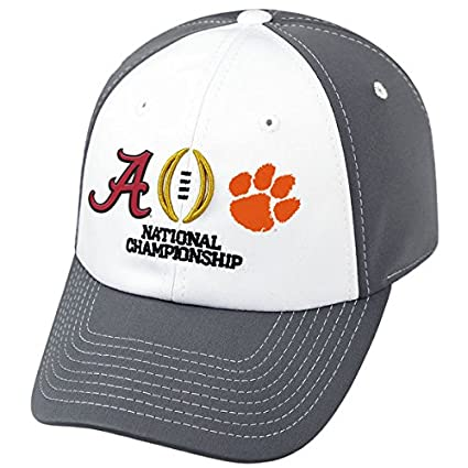 Image Unavailable. Image not available for. Color  Top of the World Alabama  Crimson Tide Clemson Tigers 2017 College Football Playoff Finals Hat Cap 32287b7ea