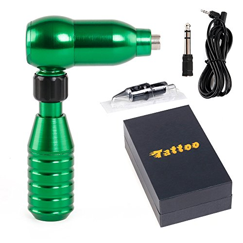 HoriKing Tattoo Supply RCA Hawk Pen CNC Aluminum Alloy Rotary Tattoo Machine Liner Shader Green...
