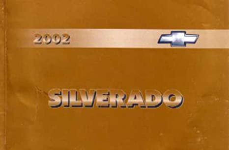 2002 chevy camaro owners manual