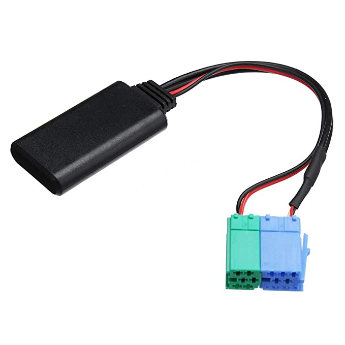 Interfaz de m/úsica AUX AUX Adaptador de Bluetooth Est/éreo compatible con Mercedes Benz Porsche con Becker Radio 1994-2002