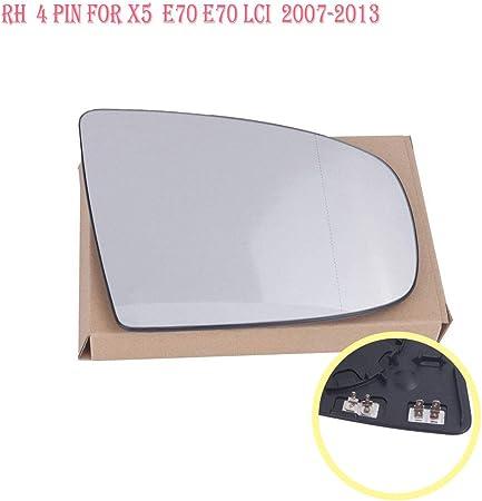 Spiegel Spiegelglas Links beheizbar Trafic 2001 bis 2014 f/ür Au/ßenspiegel elektrisch und manuell verstellbar geeignet