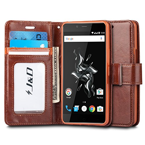 Slim Leather Stand Wallet OnePlus