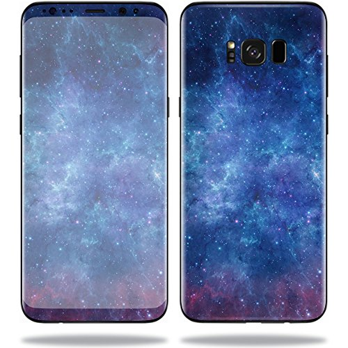 Price comparison product image Mightyskins Skin for Samsung S8 Plus,  Nebula,  Protective,  Durable,  and Unique Vinyl Decal Wrap Cover,  0.01 Pound