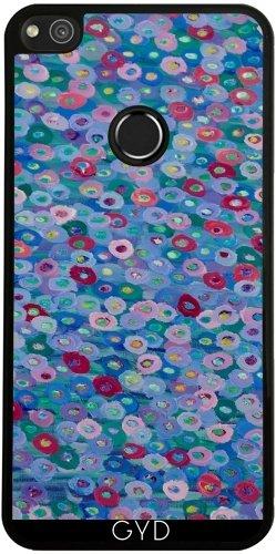 Funda de silicona para Huawei P8 Lite 2017 - Flores Azules by Helen Joynson