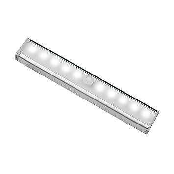 Hueliv Lampe à Led 10 Ampoules Led Détection Mouvement