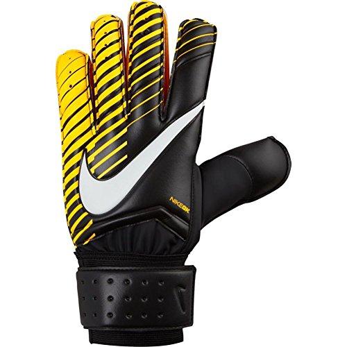 Nike GK Spyne Pro Soccer Goalkeeper Gloves (Sz. 7) Black, Laser Orange