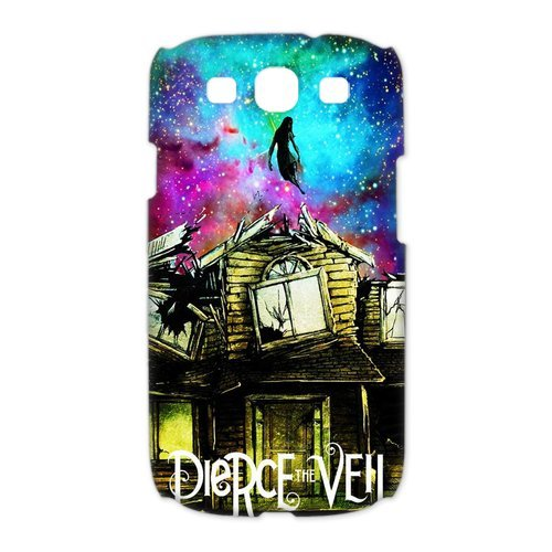 Price comparison product image Artsalong Pierce the Veil Nebula Nice Design Collection Best Durable Case Cover fits for Samsung Galaxy S3 I9300 / I9308 / I939 (3D)