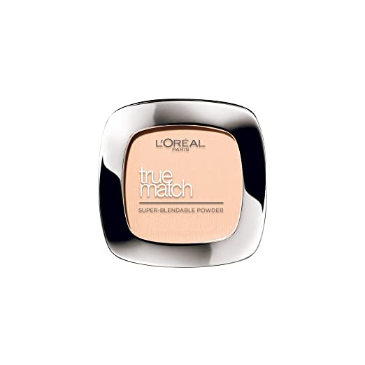L'Oreal Paris True Match Super Blendable Powder, Beige N4, 9g Compact Powder at amazon