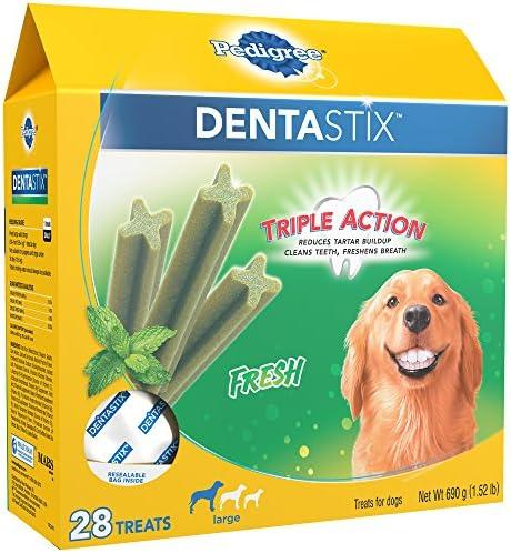 Pedigree Dentastix Fresh Treats for Large Dogs, 30 pounds