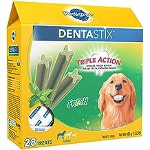 PEDIGREE DENTASTIX Fresh Large Treats for Dogs - 1.52 Pounds 28 Treats