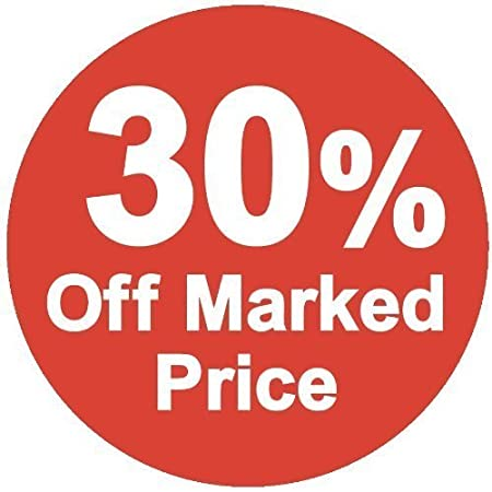 35mm 200 Pack Audioprint Ltd 50/% Off Marked Price Stickers