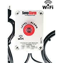 Wireless (Wifi) In/Outdoor Sump Pump or Septic Tank Monitor / High / Low Level Alarm