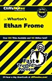 img - for CliffsNotes on Wharton's Ethan Frome (Cliffsnotes Literature Guides) book / textbook / text book
