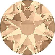 SWAROVSKI Crystal Flat Backs/Rhinestones SS12(3.1mm) SILK NON-NO HOTFIX Pack of 100 Crystals Genuine #2088 Xirius Rose