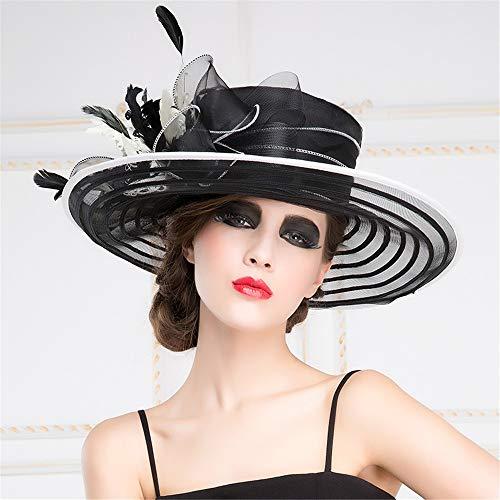 Protector Shining B Pamelas Sombrero Exteriores De A Lino Mujer,viseras Para Largo Lo Solar Mujer,anchas Sombreado Grande naw7rn1Z